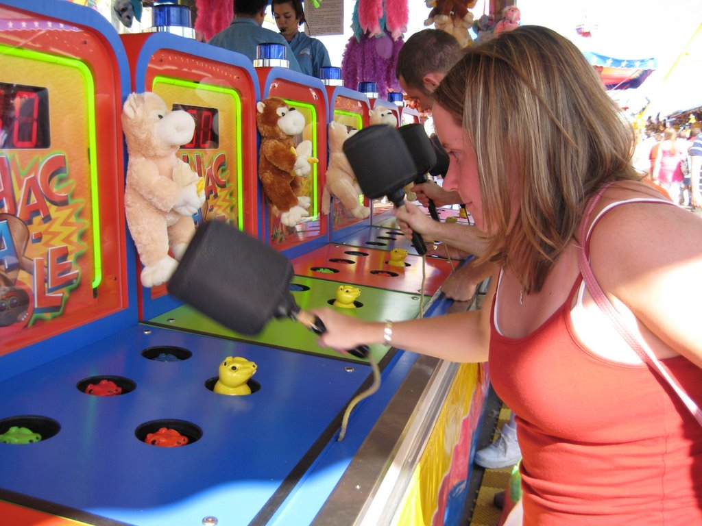 Whack-A-Mole image via Laura on Flickr.